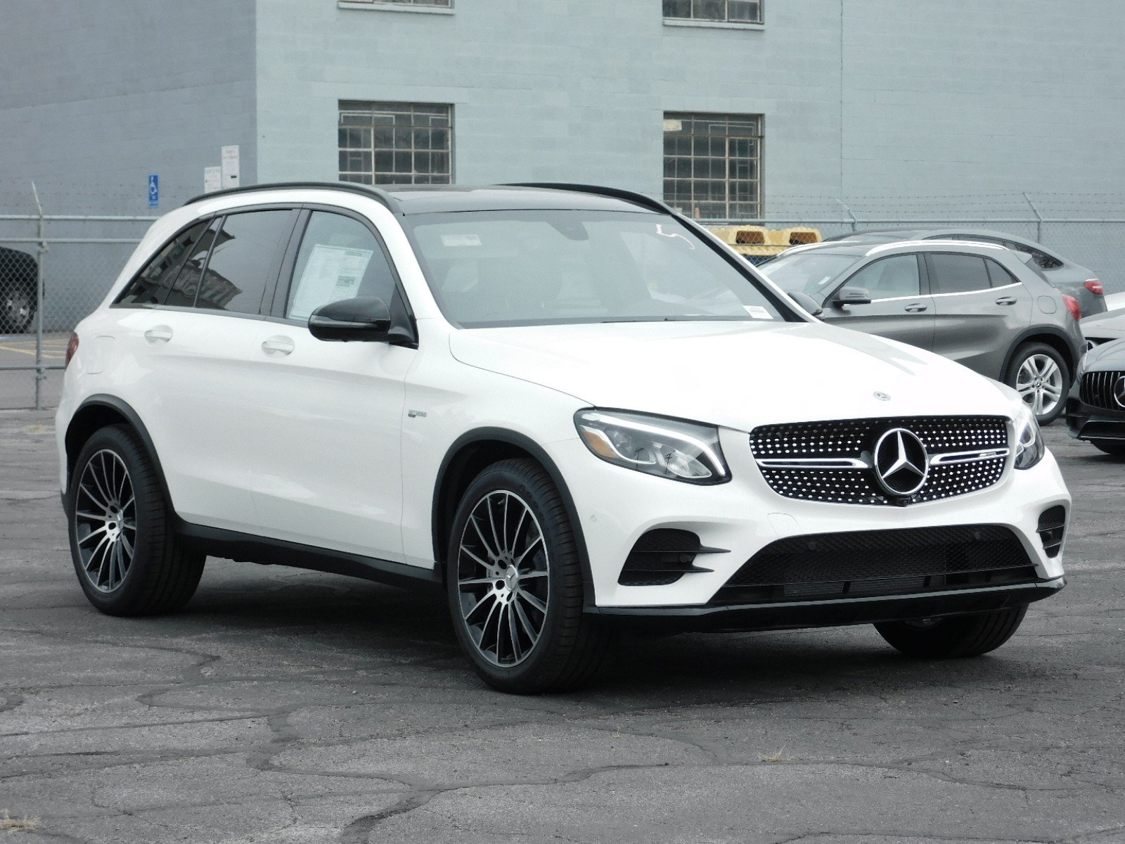 Mercedes Benz 4Matic >> New 2019 Mercedes Benz Glc Amg Glc 43 Suv In Salt Lake City 1m9228