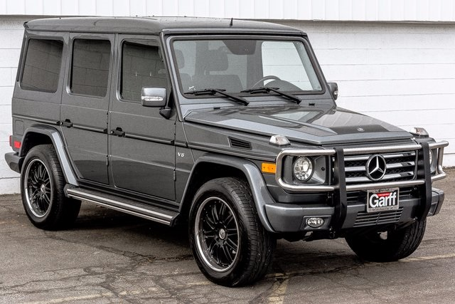 Pre owned 2010 mercedes benz g class g 550 4d sport for Pre owned mercedes benz g class