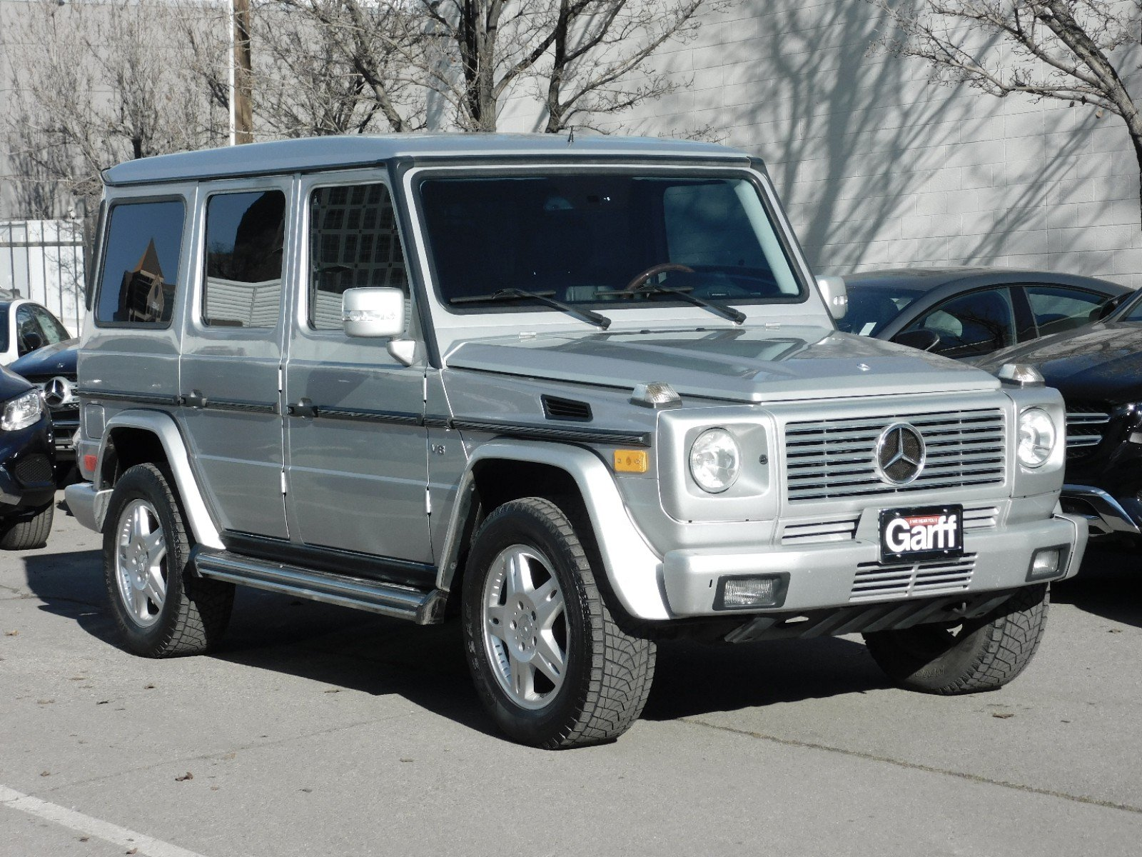 Pre-Owned 2004 Mercedes-Benz G-Class 5.0L
