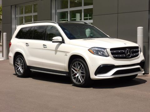 Certified Pre-Owned 2017 Mercedes-Benz GLS AMG® GLS 63